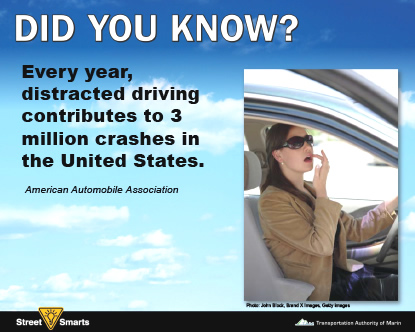 Did you know? Distracted driving stat.