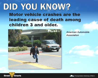 Did You Know? Motor vehicle crash stat.