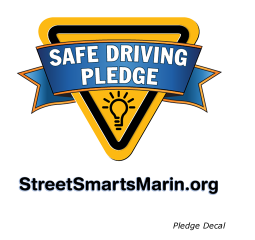 StreetSmarts Marin Pledge decal